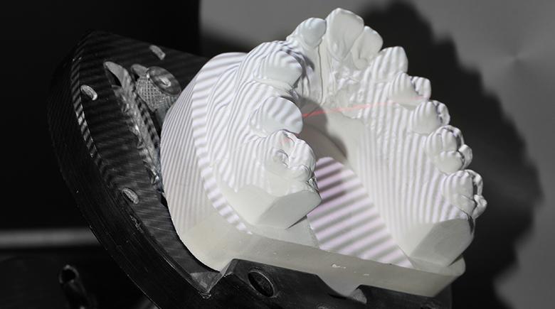 Cad cam milling metal telescope partial denture zirkonzahn